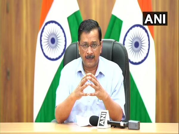 Delhi CM Arvind Kejriwal addressing a press conference on Thursday. (Photo/ANI)