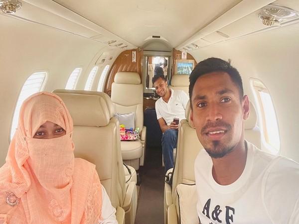 Mustafizur Rahman and Shakib Al Hasan arrived in Bangladesh on Thursday