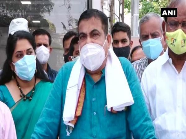 Union Minister Nitin Gadkari. (Photo/ANI)