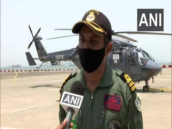 Indian Navy Commander Deepak Diwan (Photo/ANI)