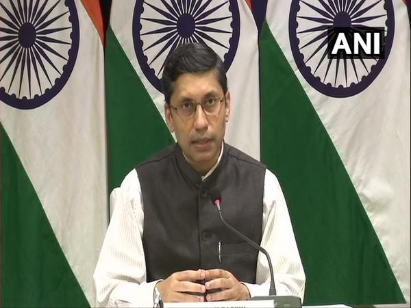 Ministry of External Affairs (MEA) spokesperson Arindam Bagchi. (Photo/ANI)