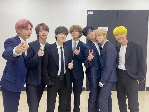 K-pop band BTS (Image source: Twitter)