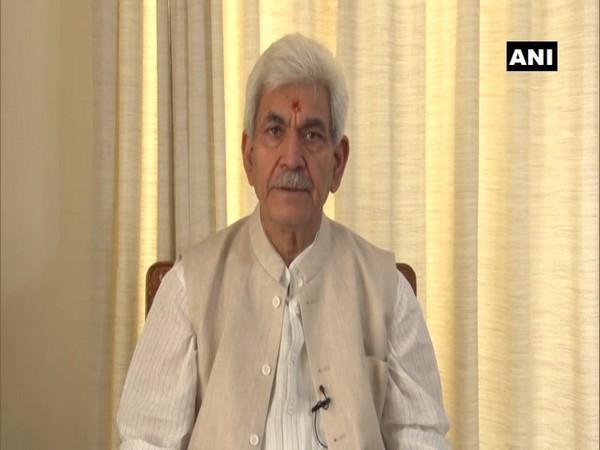 Jammu and Kashmir Lieutenant Governor Manoj Sinha (File Photo/ANI)