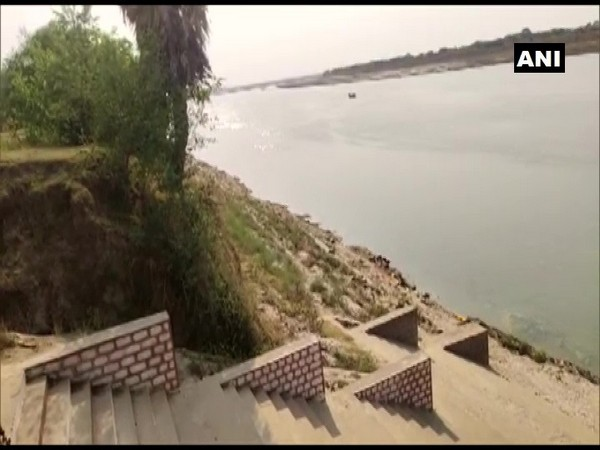 The site where the corpses were found. (ANI)