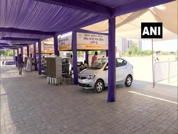 COVID testing centre in Gujarat (Photo/ANI)