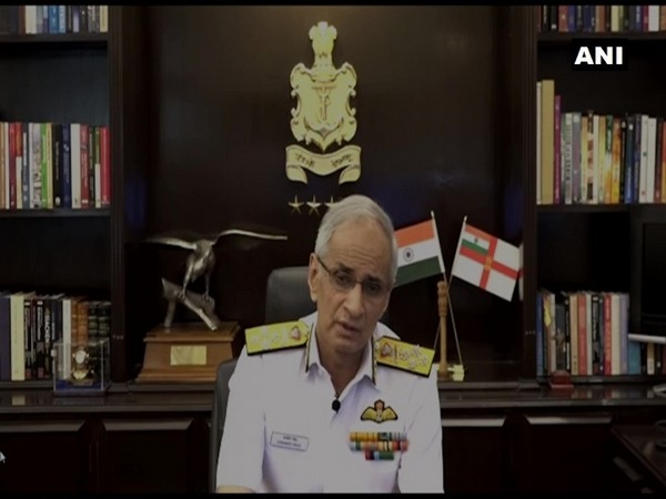 Indian Navy Chief Admiral Karambir Singh (Photo/ANI)