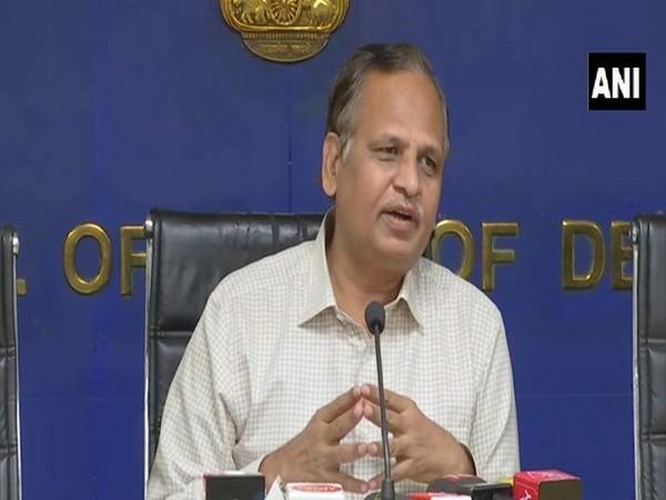 Delhi Health Minister Satyendra Kumar Jain (Photo/ANI)
