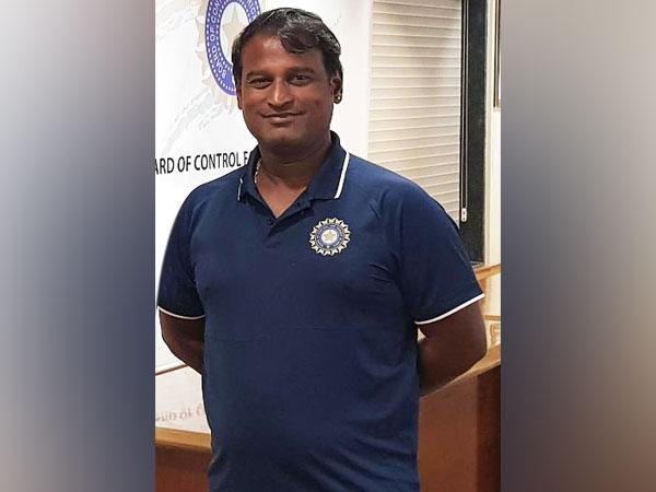 Former India spinner Ramesh Powar (Photo/ BCCI Women Twitter)