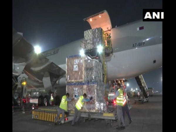 India receives the second shipment of medical supplies from South Korea. (Photo/ANI)