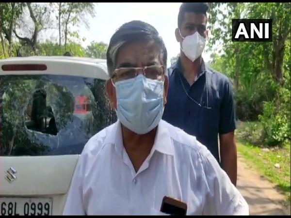 BJP MP from Bankura Subhas Sarkar (Photo/ANI)