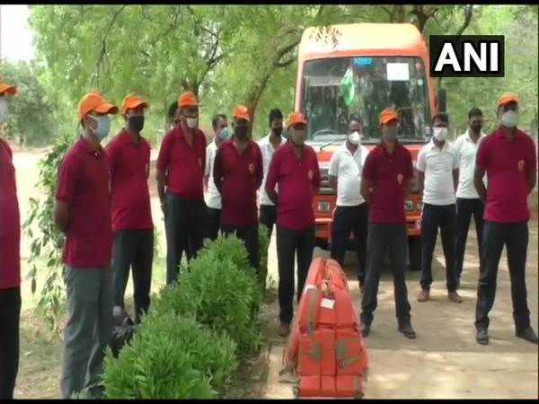 NDRF teams in Gujarat. (File photo)