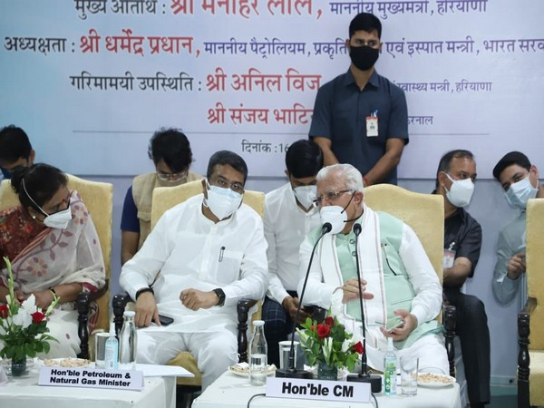 Haryana CM and Union Minister of Petroleum (Photo/ANI)