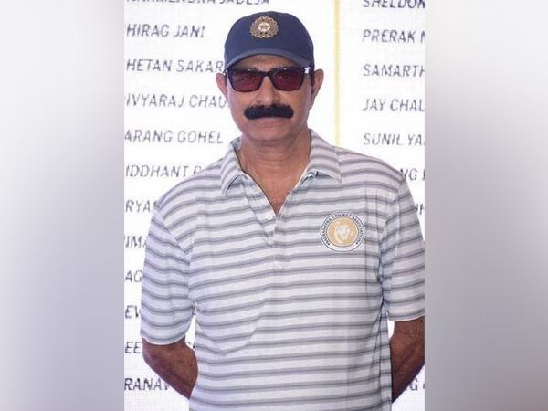 Former Saurashtra cricketer Rajendrasinh Jadeja (Photo/ Ravi Shastri Twitter)
