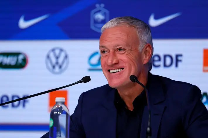 France Manager Didier Deschamps (Photo: Twitter/FrenchTeam)