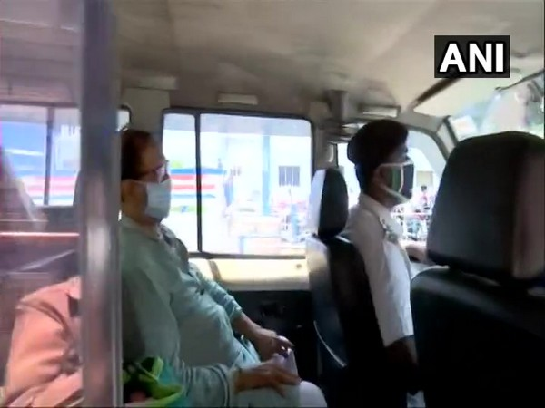 West Bengal Police brings TMC leader Subrata Mukherjee to SSKM Hospital, Kolkata.