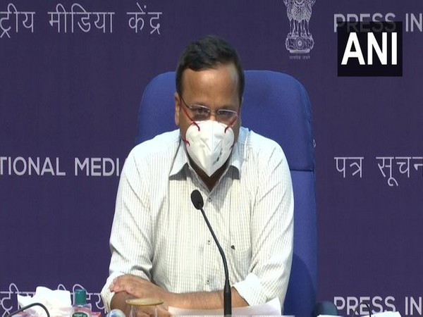 Lav Aggarwal, Joint Secretary, Union Health Ministry addressing a press conference on Tuesday. [Photo/ANI]