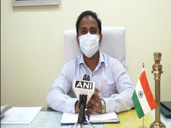 Siddharth Shiv Jaiswal, Agartala Municipal Commissioner (Photo/ANI)