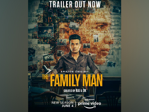 Poster of 'The Family Man Season 2' (Image source: Twitter)