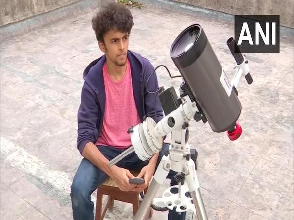 Prathamesh Jaju from Pune (Photo/ANI)