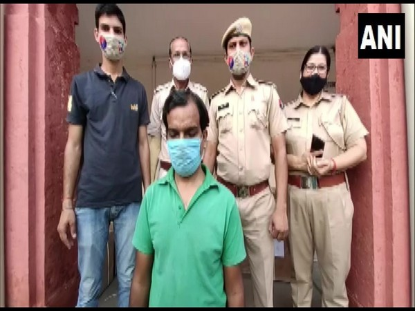 The two accused arrested by the Police in Ajmer. (Photo/ANI)