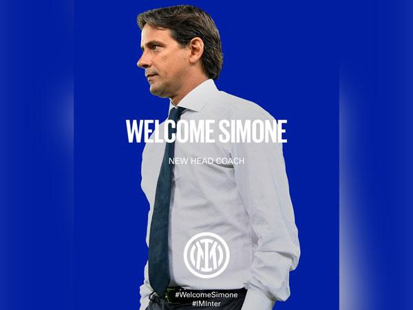Inter Milan appoint Simone Inzaghi as head coach (Photo/ Inter Milan Twitter)