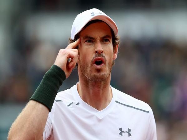 British tennis player Andy Murray (file image)