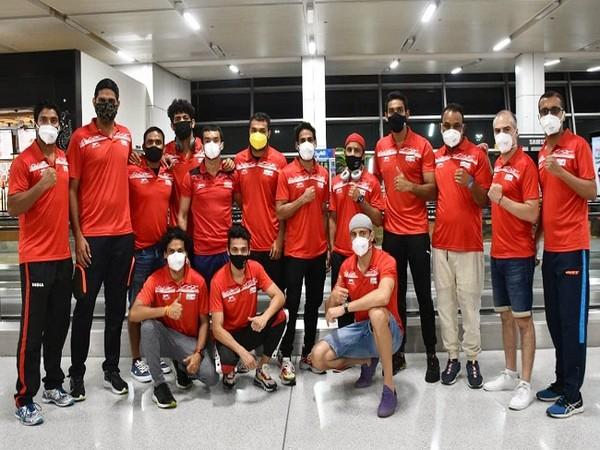 Indian boxing contingent (Image: SAI)