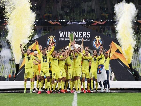 Villarreal win Europa League (Photo/ UEFA Europa League Twitter)