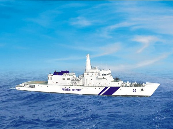 The Indian Coast Guard's Ship Sajag. (Photo: Twitter @IndiaCoastGuard)