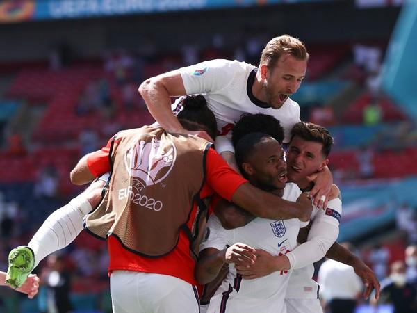 England football team. (Photo: Twitter/ England Football)