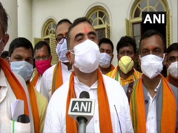 BJP MLA and Leader of Opposition in West Bengal Assembly Suvendu Adhikari. [Photo/ANI]