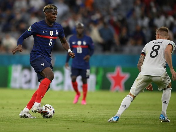 Paul Pogba in action (Photo/ UEFA Euro 2020 Twitter)
