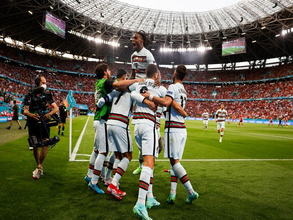 Portugal in match against Hungary (Photo: Twitter/Selecao Portugal)