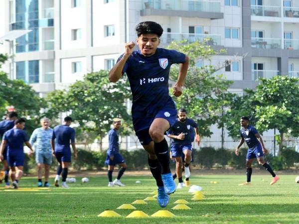 Defender Anirudh Thapa (Photo/ Indian Football Team Twitter)