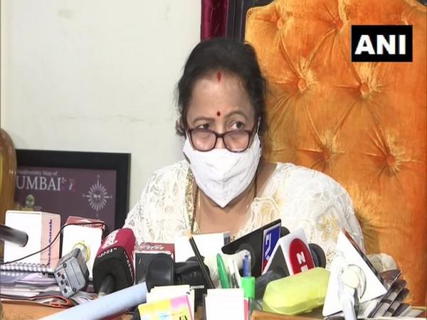 Mumbai Mayor Kishori Pednekar. (Photo/ANI)