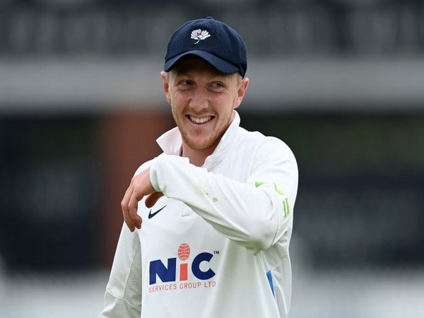 England spinner Dom Bess (Photo/ England Cricket Twitter)