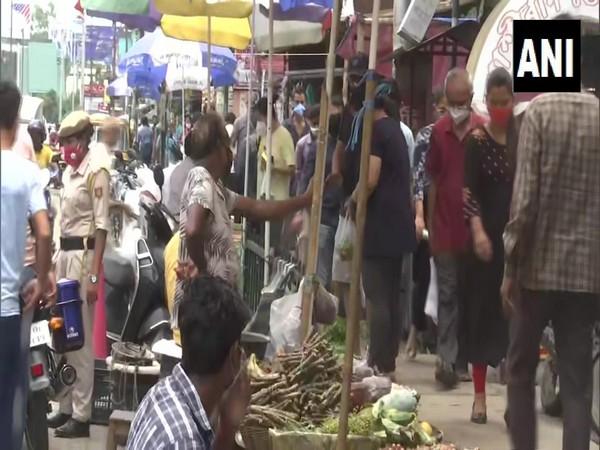 Guwahati's Ganesh Gudi market (Photo/ANI)