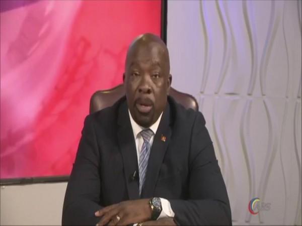 Antigua Information Minister Melford Nicholas.
