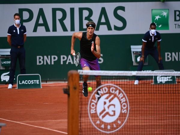 Alexander Zverev ( Photo: Twitter/Roland Garros)