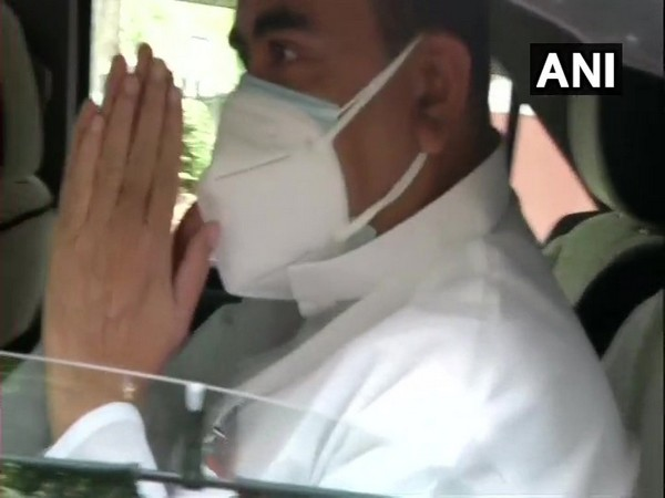 Leader of Opposition in the West Bengal Assembly Suvendu Adhikari outside PM's residence in Delhi (Photo/ANI)