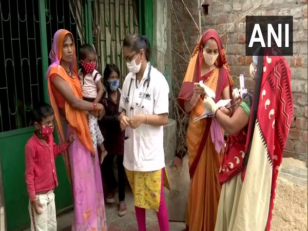 Gujarat: Ahead of potential 3rd wave of COVID-19, Ahmedabad gears up as it is conducting pediatric survey. [Photo/ANI]