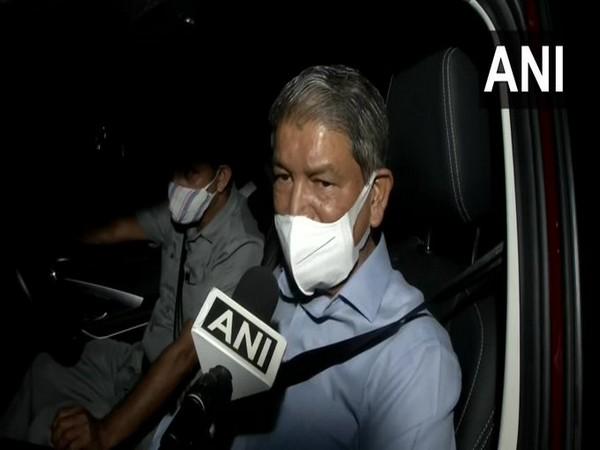 Congress leader Harish Rawat speaking to ANI in Delhi on Wednesday. [Photo/ANI]