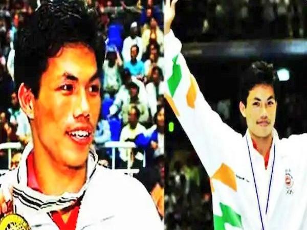 Former India boxer Dingko Singh (Photo/ Kiren Rijiju Twitter)
