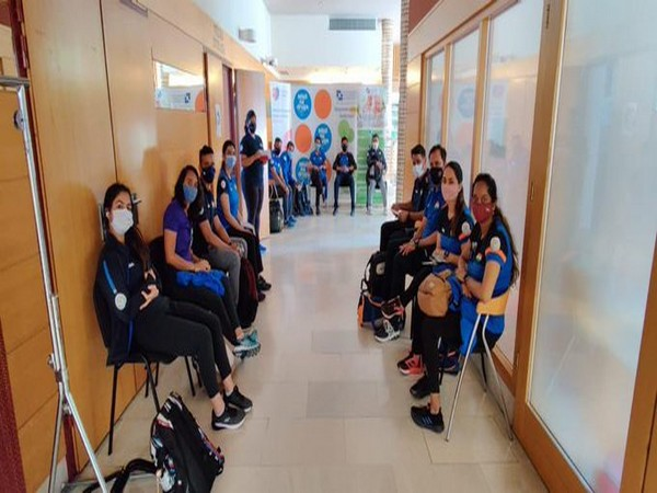 COVID-19: Oly-bound Indian shooters vaccinated in Zagreb (Photo/ NRAI Twitter)