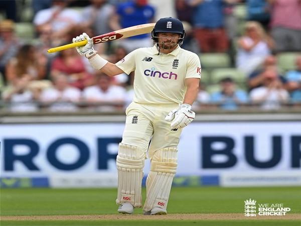England opening batsman Rory Burns (Photo/ England Cricket Twitter)