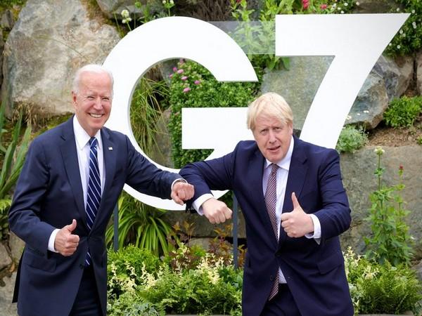 US President Joe Biden and UK Prime Minister Boris Johnson