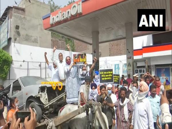Visual from Amritsar (ANI)