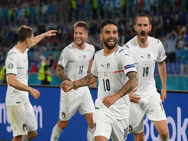 Italy celebrate after defeating Turkey in Euro 2020 opener (Photo/ UEFA Euro 2020 Twitter)