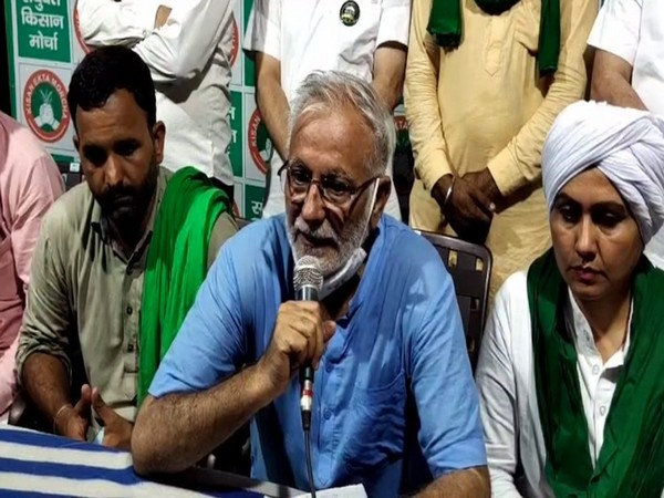 Inderjit Singh, vice president, All India Kisan Sabha, Haryana (Photo/ANI)