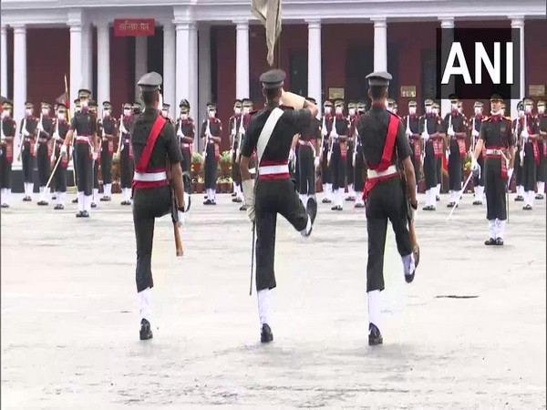Passing out parade underway at IMA
